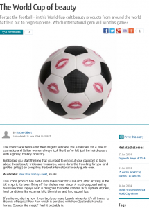 World Cup PR